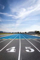 15 Clovis North Track Resurfaced
